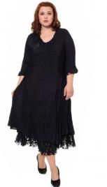 Платье Темно-синее 303926