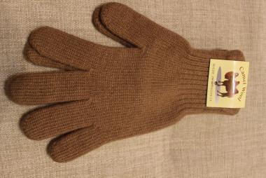 """Перчатки из шерсти """"Верблюд"""" рыжий, Монголия"""