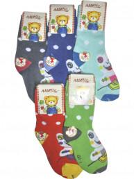 Детские носки теплые Амина 2313 бамбук 1-4 Детские носки те