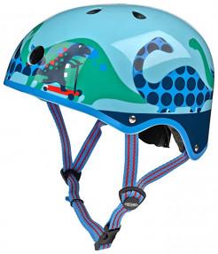 Micro Blue Scootersauras Helmet - S