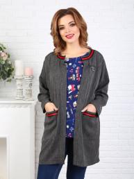 Пальто 070/1, серый