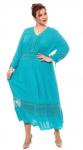 Платье бирюзовое 403955