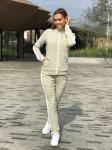 Женский костюм 0017 N светло-серый