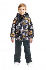 SP92201 BLACKКомплект утепленный: куртка и брюки