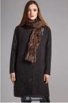 Пальто Модель 1153 Dallas темный меланж Anna Majewska      П