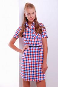 Платье-рубашка 1222 р.48-50