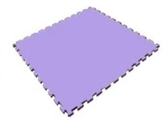 Мягкий пол универсальный 1000*1000*14 мм, фиолетовый