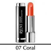 "007 Помада для губ ""Click-Top"" Коралл – Coral"