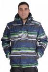 Куртка горнолыжная мужская синего цвета 14102S