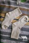 Носки из кашемира 100% бежевый, Монголия