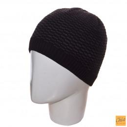 Шапка 03039 черный