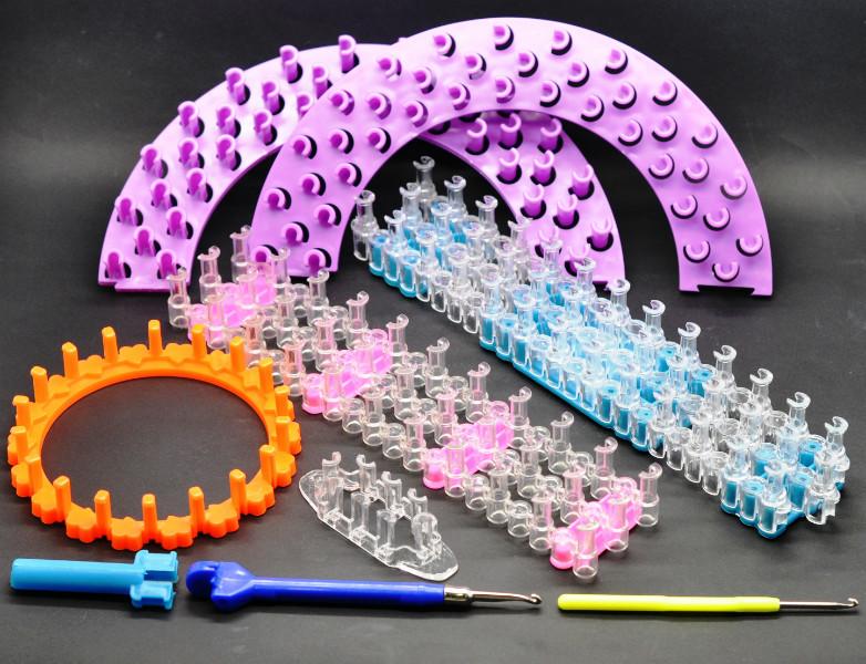 Плетение из резинок с крючком фото