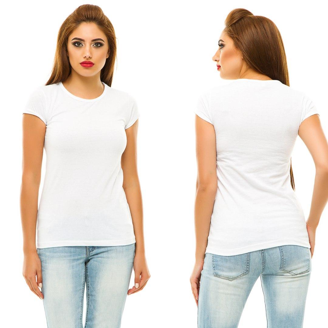 Обычные одноцветные футболки купить