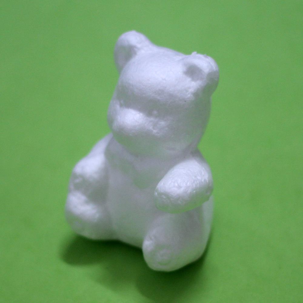 Медведь из пенопласта своими руками 84