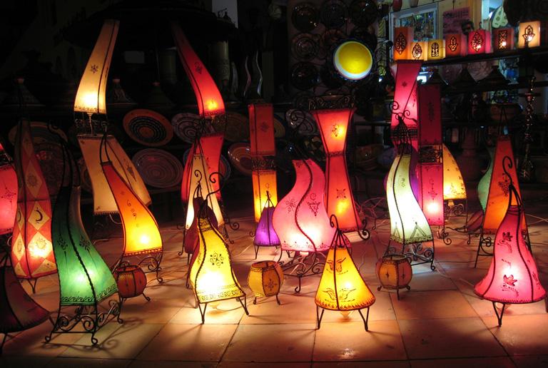 Марокканские лампы-красота необыкновенная!