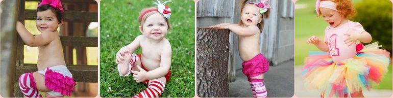 Эксклюзивная одежда для маленьких принцесс Ruffle Butts, Mud Pie, Candytoez (США)