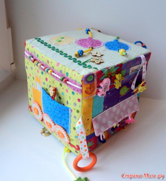 Кубик для новорожденных своими руками 83
