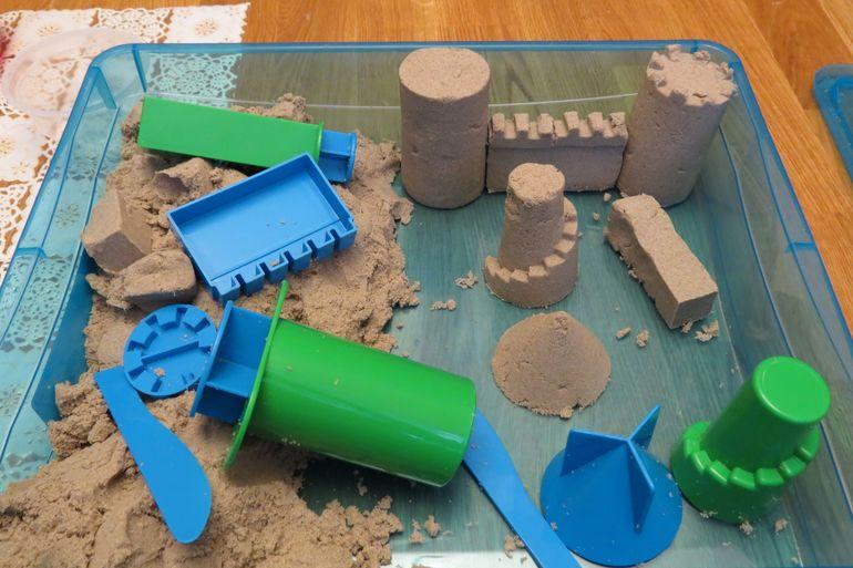 Песок своими руками для детей 54