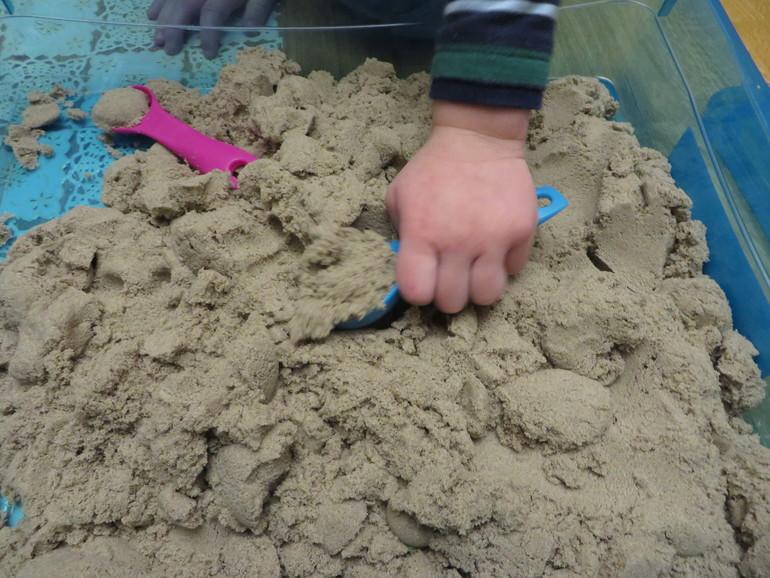 Кинетический песок своими руками отзывы
