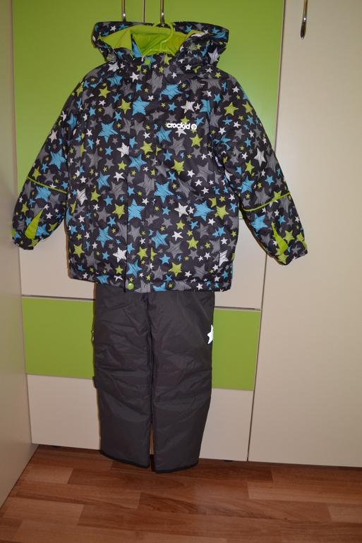 7be8f5b87517 Сразу скажу, что брала с расчетом на две зимы, поэтому сейчас он нам  великоват. Рост ребенка 93 см, костюм 104-110. Вот так он смотрится на сыне.