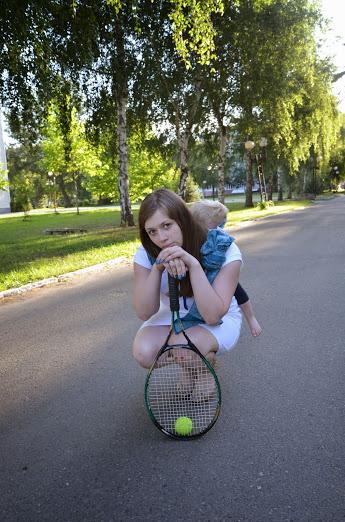 На конкурс: В спорте только девушки...