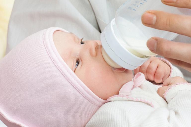 Кормление из бутылочки новорожденного алгоритм