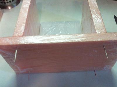 МК сборка торта в коробочку