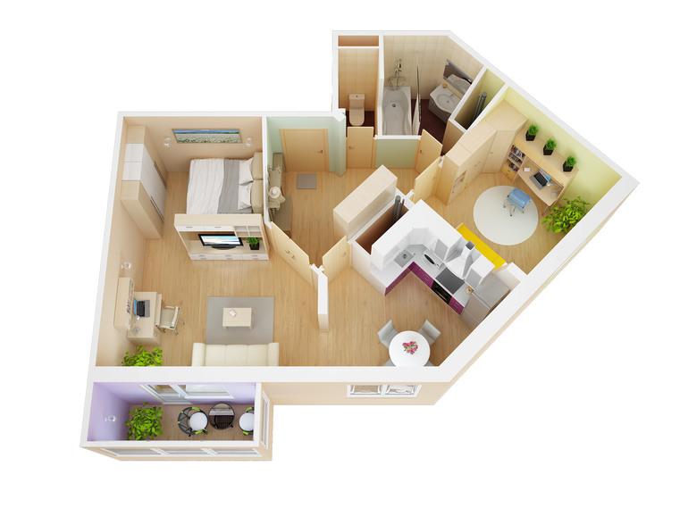 Дизайн для квартиры новой планировки