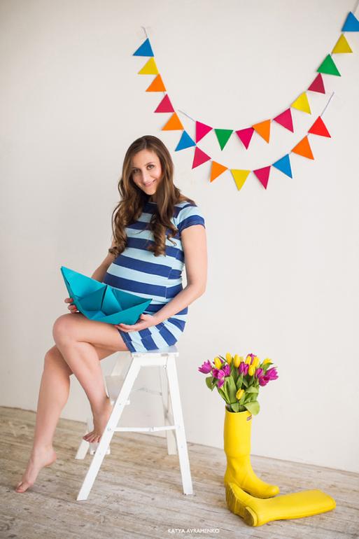 Вторая  беременность.  Фото  32  недели