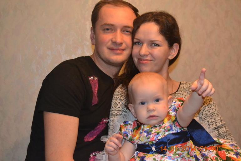 Первый  годик!!!  младшенькой)))