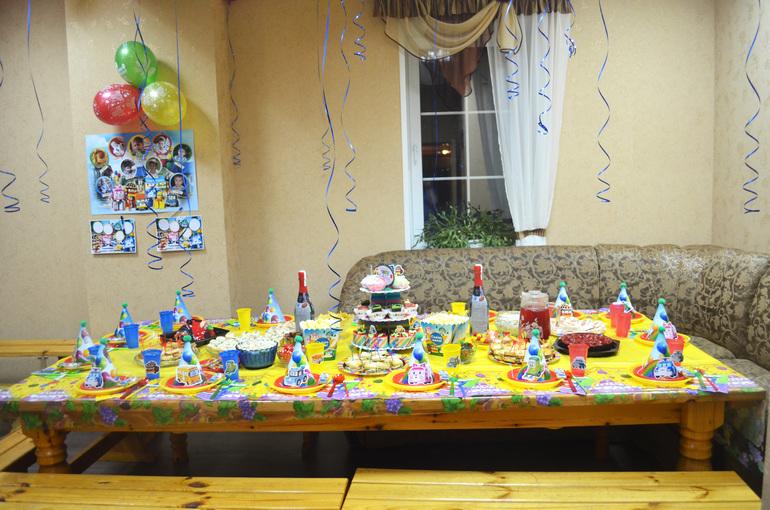 День рождения в стиле поли робокар своими руками 20