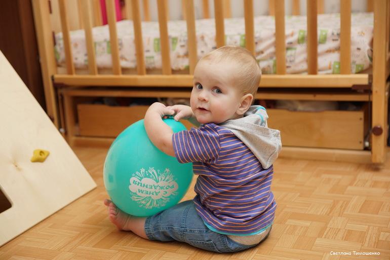 Как мы праздновали Славин первый День Рождения