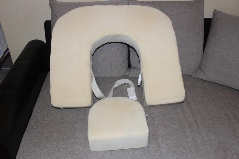 Подушка для кормления двойни и коляска для двойнишек