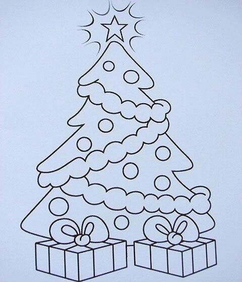 Открытка на новый год нарисовать своими руками