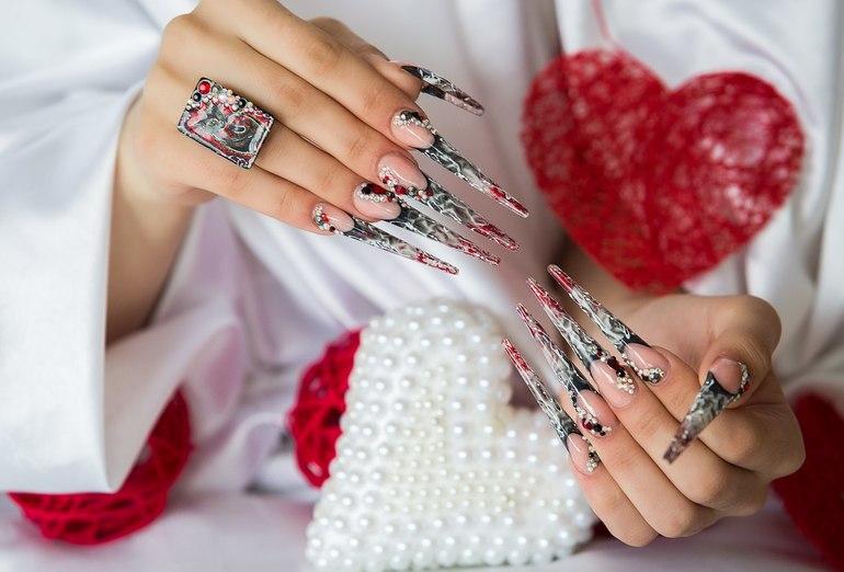 Конкурсный дизайн ногтей