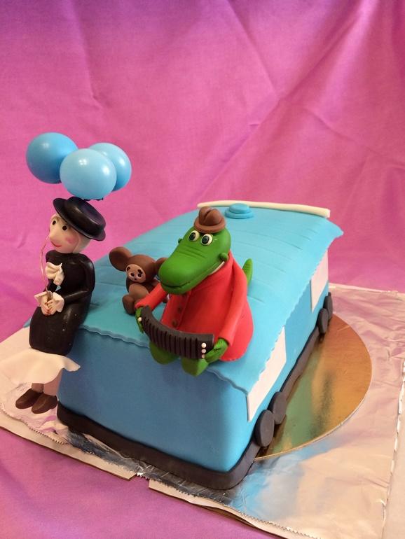Торт чебурашка з фото