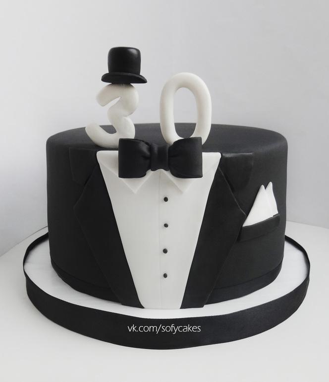 торт на 30 лет мужчине фото