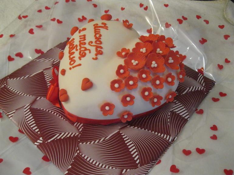 Мой первый торт на заказ.