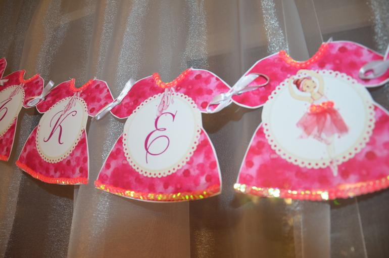 Растяжки на день рождения своими руками для девочки 14