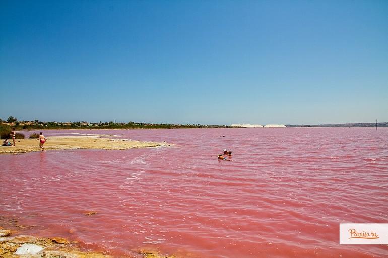 Соляные озера в торревьехе