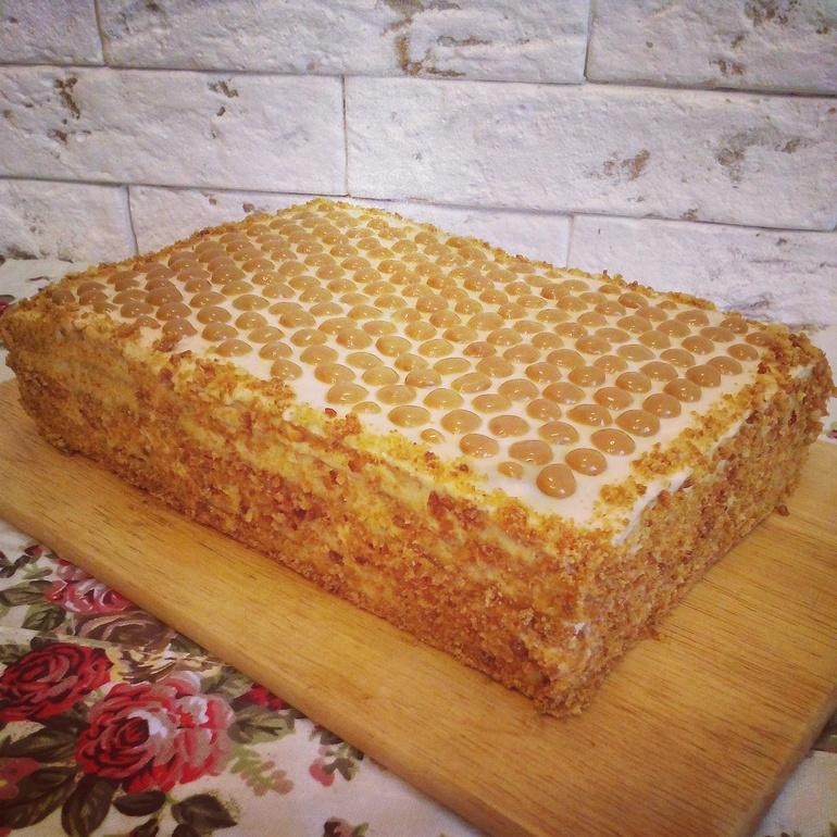 Как сделать медовый корж для торта 252