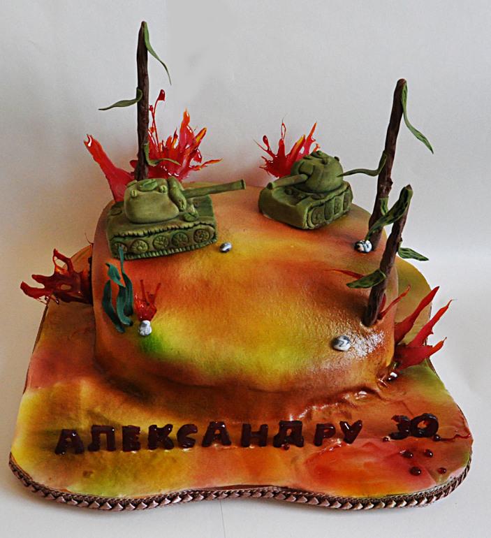 Торты из игры world of tanks