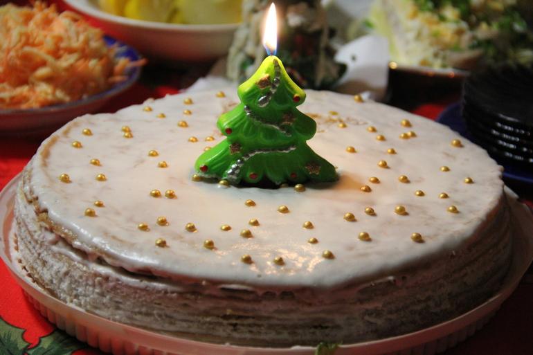 Торт на Год))