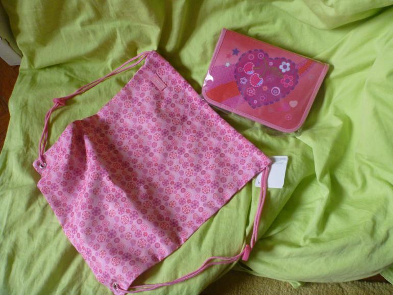 Пенал+мешок  для  обуви  для  девочки,  Herlitz  (Германия)