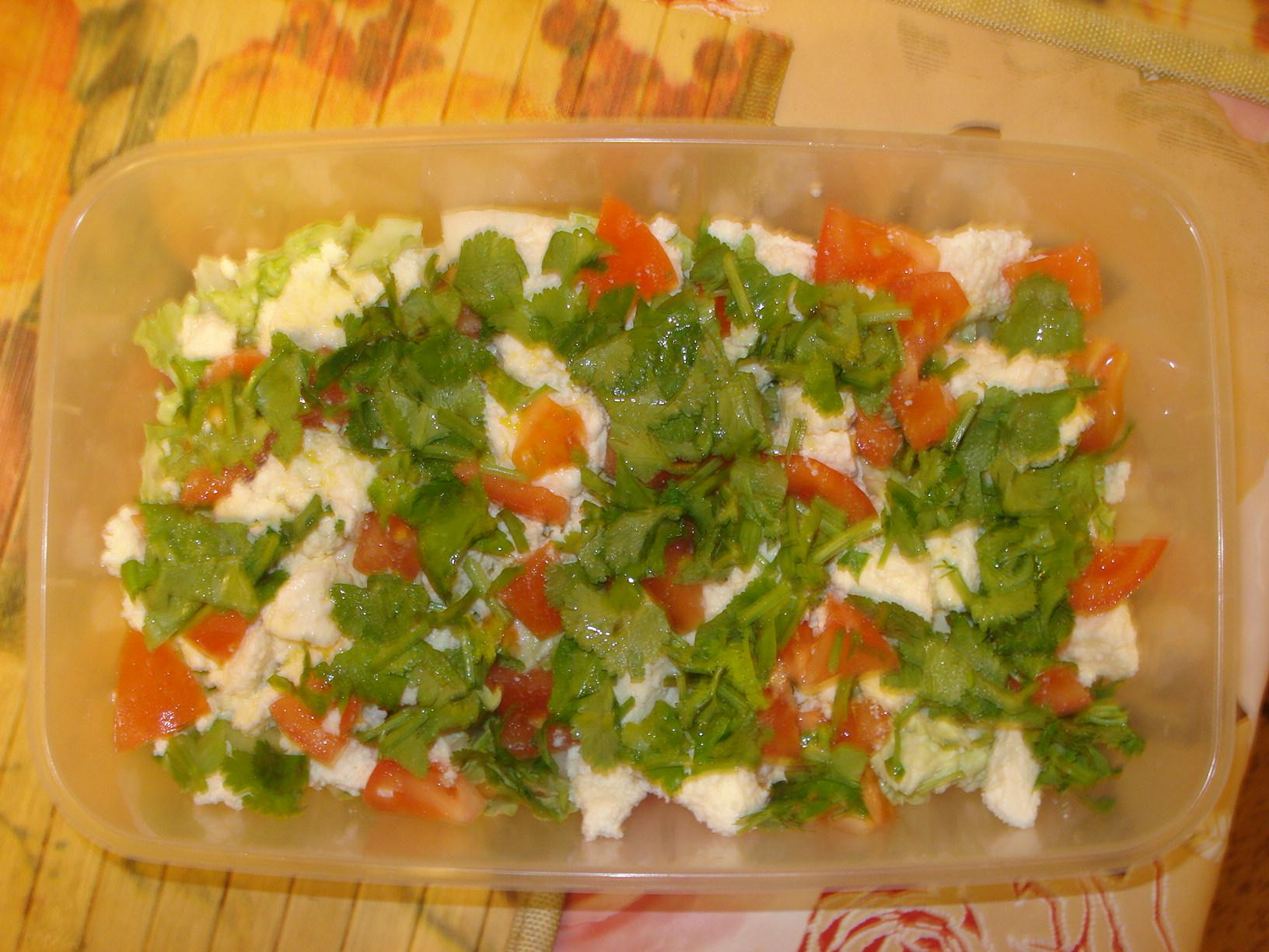 Салат из лёгкого рецепт