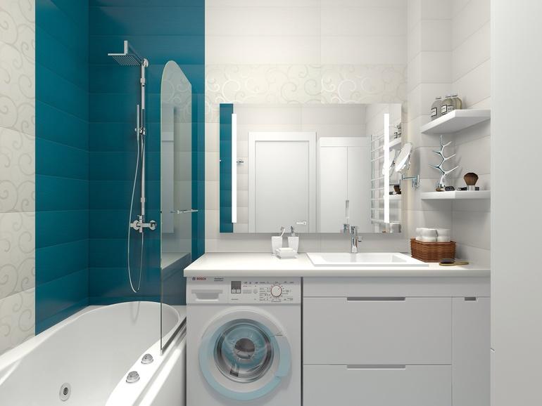 Растановка в ванной комнате фото