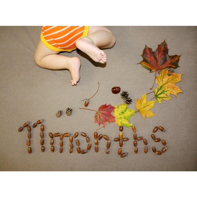к фотографиям 11 месяцев стихи