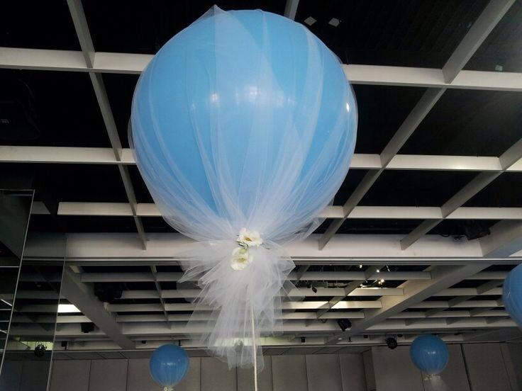 Воздушные шары из лампоЕлка из фатина своими
