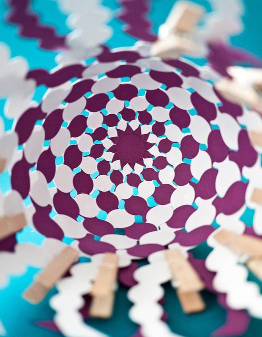 174Как сделать красивый шарик из бумаги