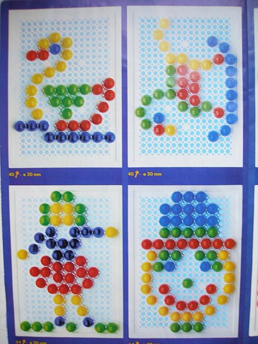 узоры из детской мозаики фото